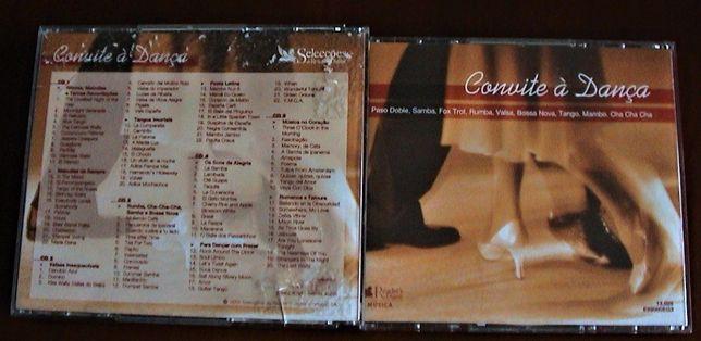 DANÇAS DE SALÃO-O preço indicado é o total dos 14 CD'S e 1 DVD
