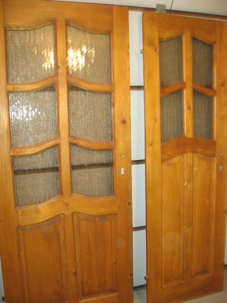 Drzwi pokojowe łazienkowe drewniane 9szt,witryna tunel