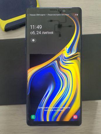 Смартфон Samsung Galaxy Note 9 N960 6/128GB Ocean Blue (SM-N960F