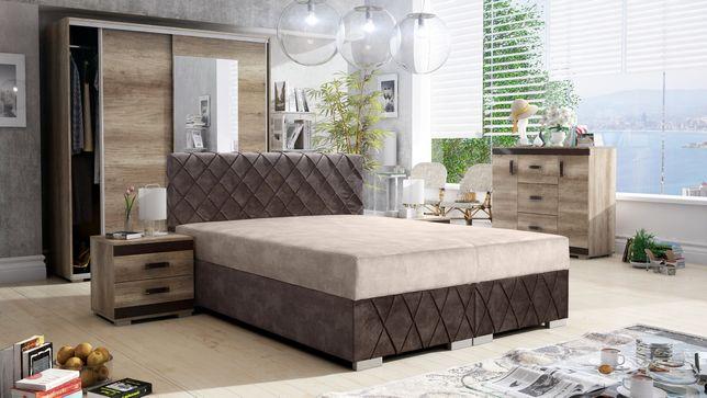 Łóżko tapicerowane, sypialnia MAXI! Różne wymiary!