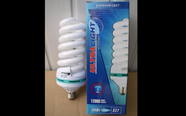 Лампа энергосберегающая 65Вт цоколь Е27-E40