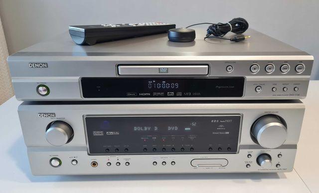 Denon Amplituner AVR 1507+ Odtwarzacz DVD-1730