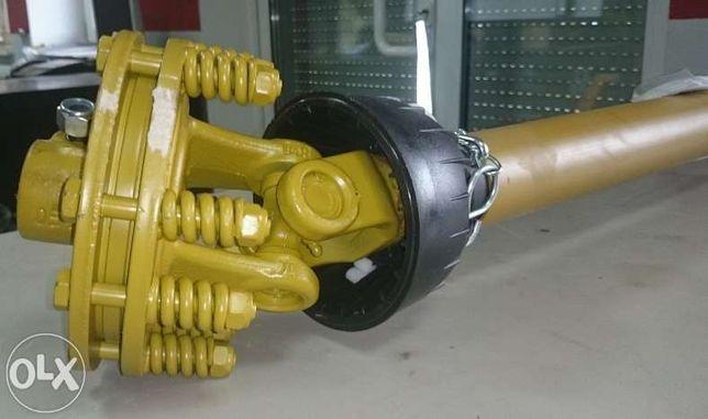 Wałek Wał przekaźnika mocy WOM Comer 900 Nm ze sprzęgłem ciernym 460Nm