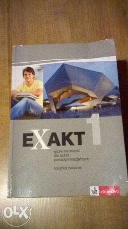Exakt 1 książka ćwiczeń język niemiecki