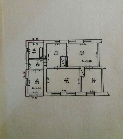 Продам цегляний будинок в С. М. Т.  Семенівка