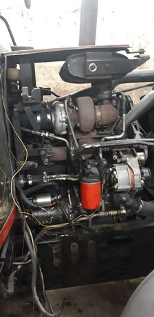 Silnik cummins 4t 390 4 cylindry komplet z pompa rozrusznik turbina
