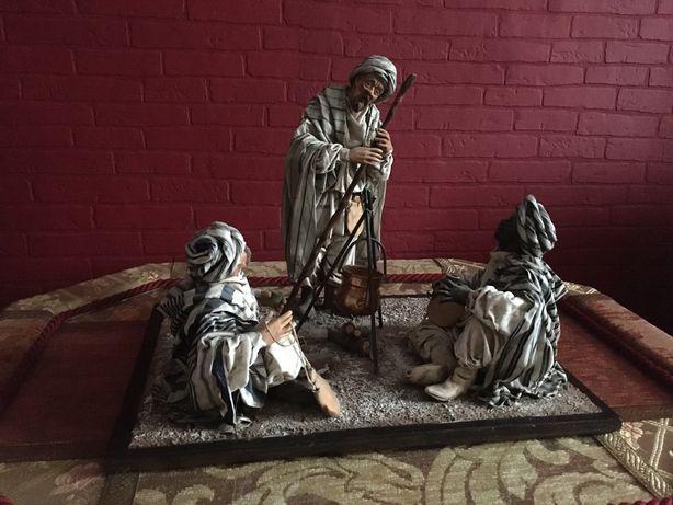 Stara Figurka kolekcjonerska pasterze beduini unikat