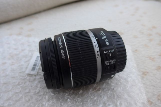CANON EF-S 18-55 mm F3.5-5.6 IS # NOWY #