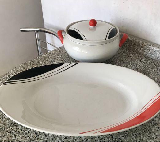 Набор посуды, супник,блюдо СССР