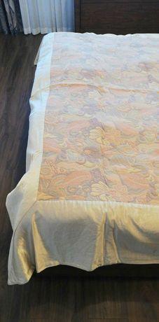 Wzorzysta żakardowa narzuta na łóżko 210 cm × 230 cm