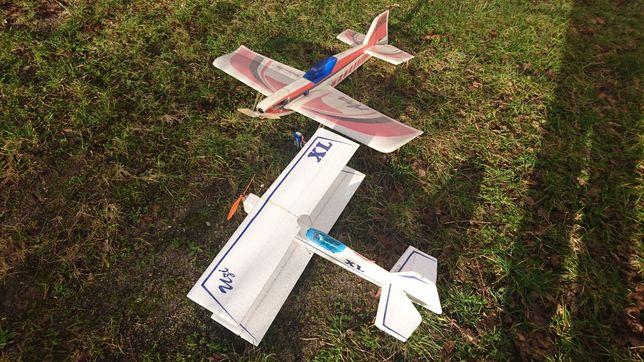 Kolekcja modeli samolotów rc
