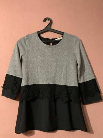 Блуза с люрексом,размер С