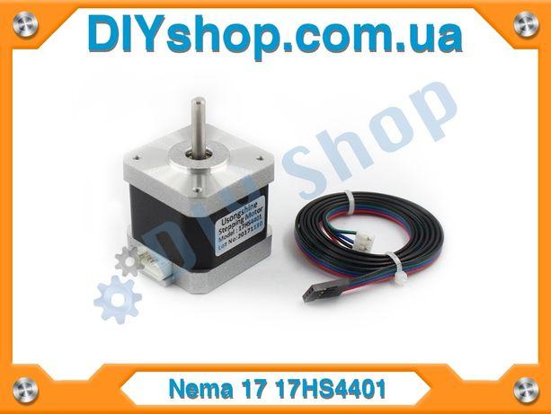 Шаговый двигатель Nema 17 17HS4401 ( 42BYGHW609) 3Д принтер CNC.