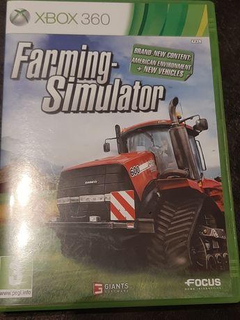Farming  Simulator wersja ENG Xbox 360