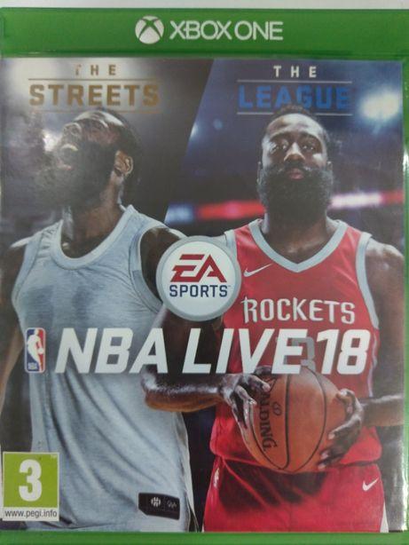 NBA Live 18 Xbox One Używana Kraków