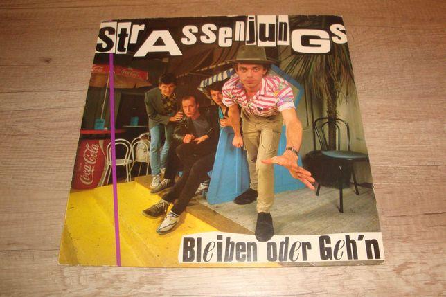 Strassenjungs - Bleiben Oder Geh'n LP winyl punk rock
