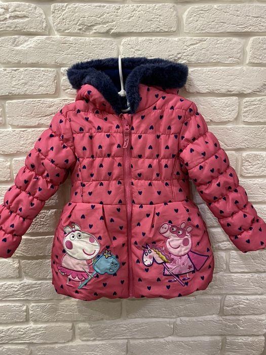 Куртка Peppa Pig. 3-4 года. Харьков - изображение 1