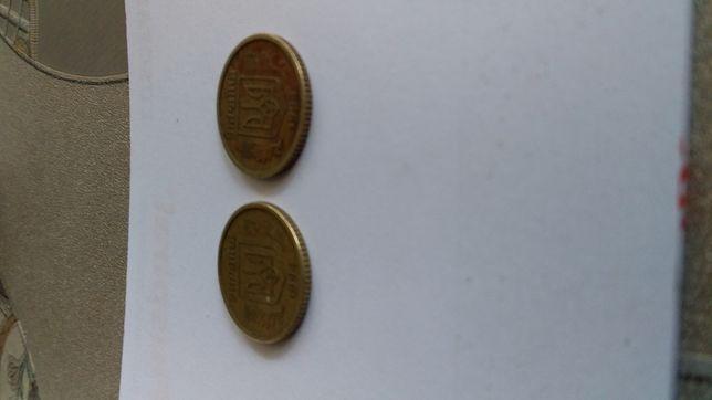 Продам монеты 10коп 1994года. А также монета 10коп 1996года-крупный гу