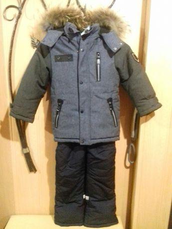 Зимний костюм новый (р 122)