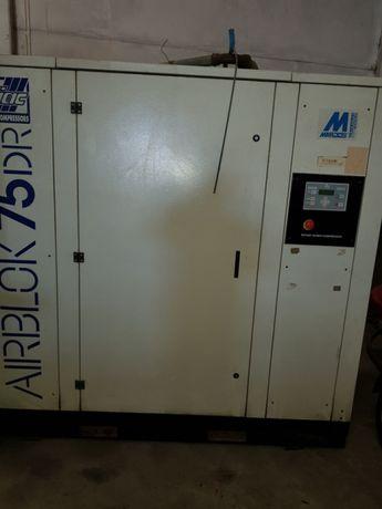 Compressores de parafuso compressor de palhetas secador dois tanques