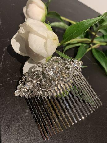 Wsuwka spinka ozdoba do włosów ślub ślubna