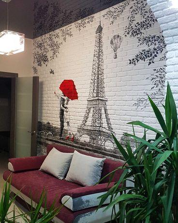 Роспись стен в кафе, квартирах и т.п