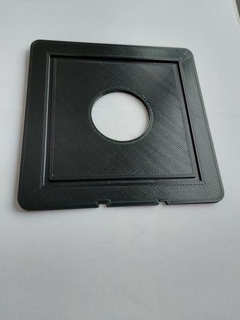 Płytka obiektywowa CAMBO 4x5 średni format fotografia