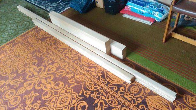 Materiał dębowy na poręcz do schodów