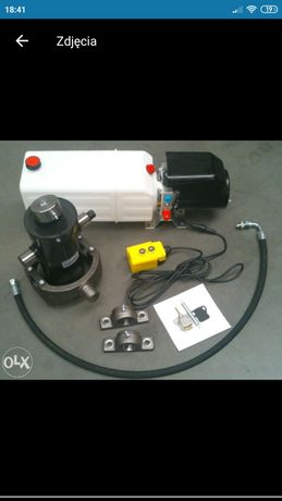Hydraulika do wywrotu elektryczna pompa 12V zestaw nowy