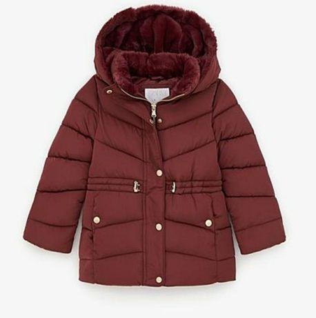 Продам новая красивенная теплая деми-курточка ZARA