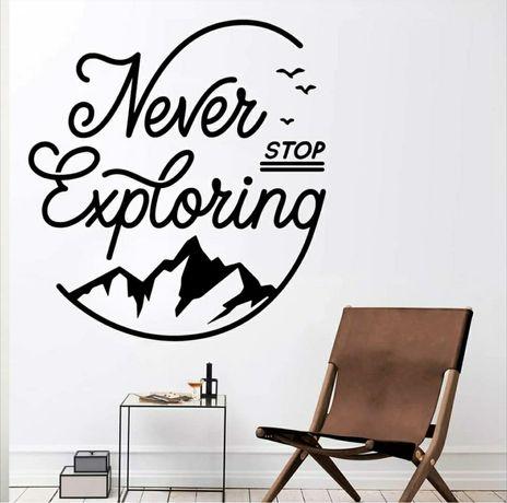 Adesivos vinil parede casa decoração Travel / Viajar / Viagens