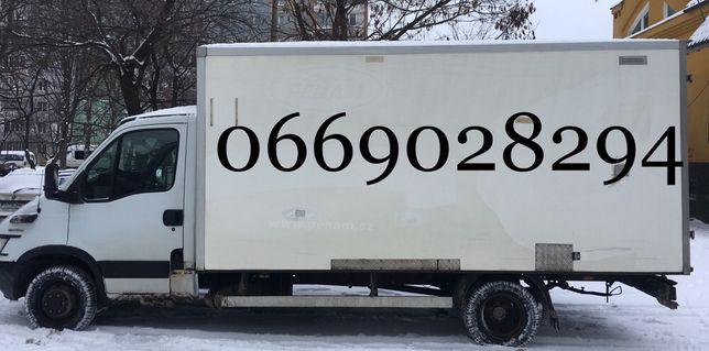 Вантажні перевезення до 3,5тон задня загрузка, бокова загрузка