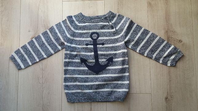 Sweter dla chłopca rozm 92 H&M