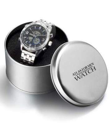 Zegarek chronograf z podwójnym wyświetlaczem
