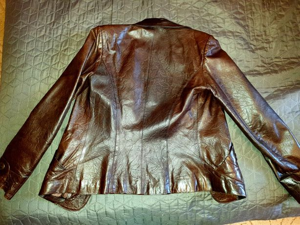 Кожаная куртка GUCCI  розмер S