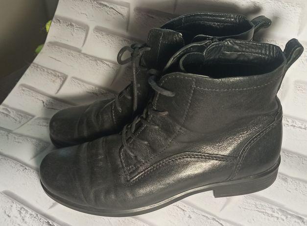 Ботинки Ecco кожаные