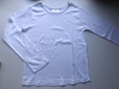 Biała bluzka roz 128
