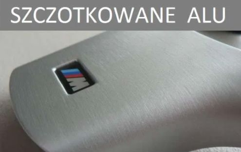 FOLIA SZCZOTKOWANE aluminium 152x50 metal srebrny, GRAFIT, CZARNY