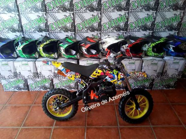 Mini moto para crianças a gasolina motas NOVAS