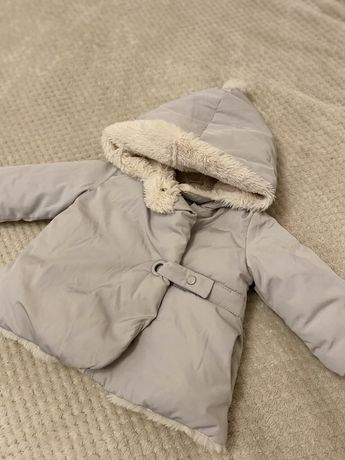 Куртка для дівчинки zara 68р
