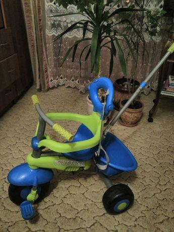 Велосипед-візочок триколісний дитячий SMART TRIKE продам
