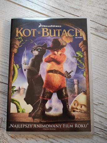 Kot w Butach film DVD