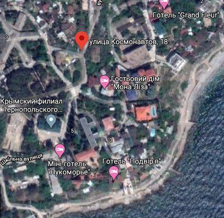 Квартира на море, Крым, Форос, ул. Космонавтов