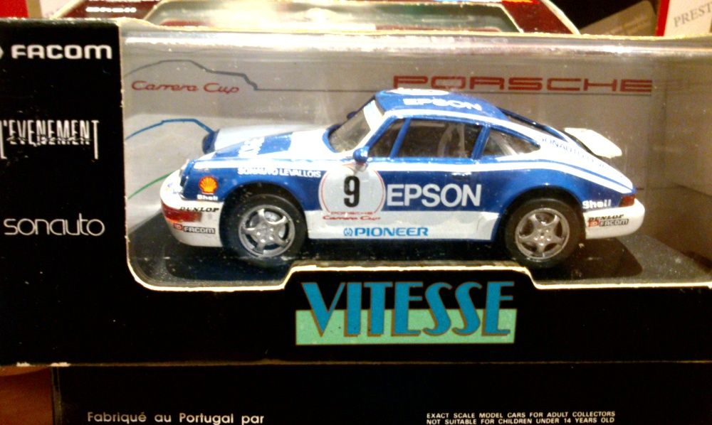 "Porsche 911 CARRERA CUP #9 ""EPSON"" , Vitesse skala 1:43 Bielsko-Biała - image 1"
