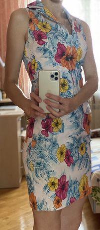Костюм женский юбка с блузой, размкр 36!
