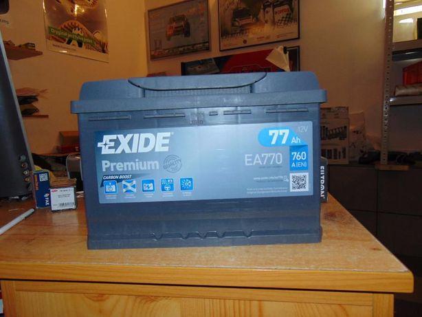 Akumulator Exide Premium EA770 CA770 77Ah 760A Kraków wymiana CA770