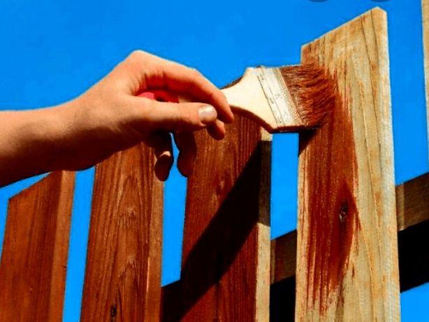 Фарбуваня паркана та інчі послуги!