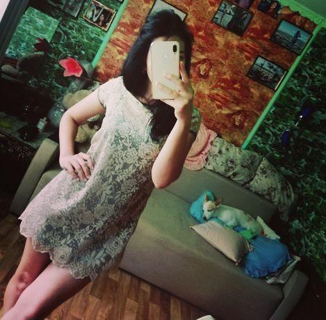 PUllBearПродам Платье в Узорах