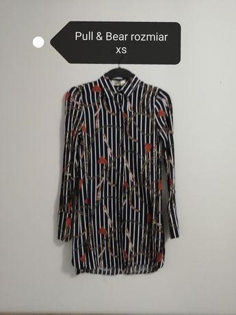 Długa bluzka tunika rozmiar 34