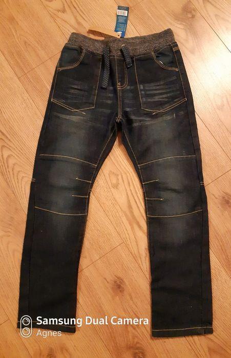 Spodnie jeans 146 nowe Luboń - image 1